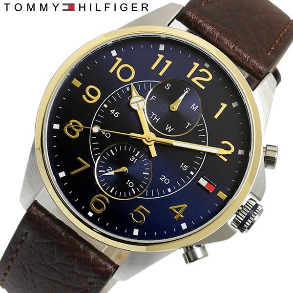 【送料無料】TOMMY HILFIGER トミーヒルフィガー 腕時計 クオーツ メンズ 日常生活防水 1791275