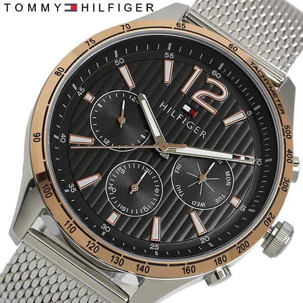 【送料無料】TOMMY HILFIGER トミーヒルフィガー 腕時計 メンズ クオーツ 日常生活防水 カレンダー 1791466