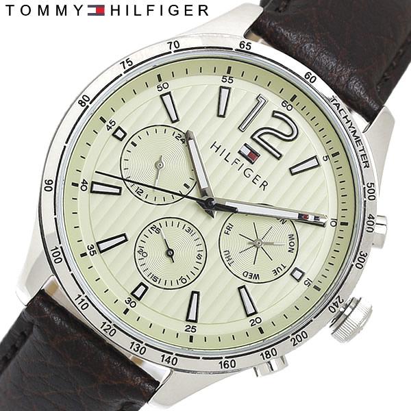 【送料無料】TOMMY HILFIGER トミーヒルフィガー 腕時計 クオーツ メンズ 日常生活防水 カレンダー 1791467