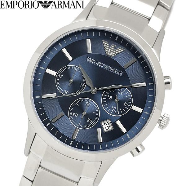 【送料無料】EMPORIO ARMANI エンポリオ アルマーニ クオーツ 腕時計 ウォッチ 日常生活防水 メンズ 男性用 クロノグラフ AR2448