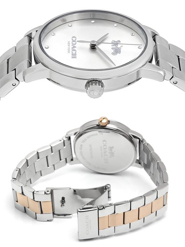 a49871ddd2e8 COACHコーチ腕時計レディース女性用ウォッチブランド人気日常生活防水ピンクゴールドシルバーゴールド