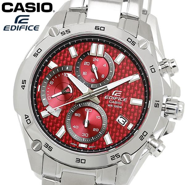 【感謝SALE】【送料無料】CASIO カシオ EDIFICE エディフィス クオーツ メンズ 腕時計 クロノグラフ 10気圧防水 efr-557d-4av
