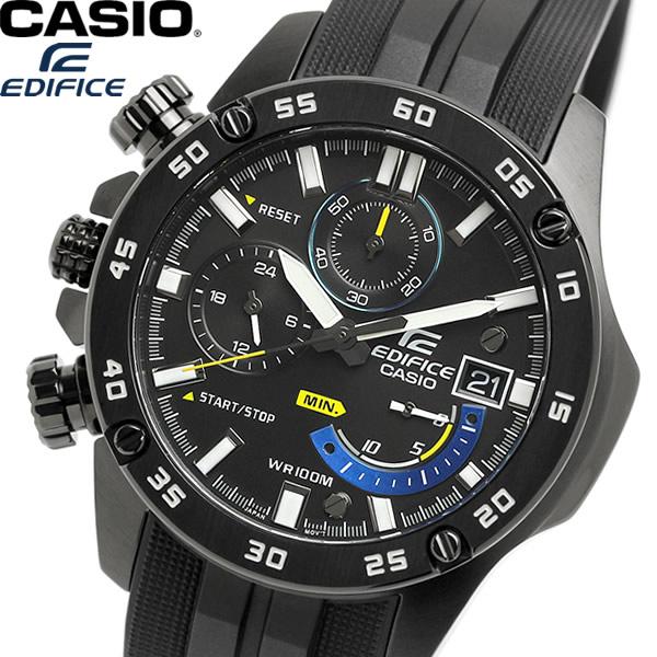 【送料無料】CASIO EDIFICE エディフィス クオーツ メンズ 男性用 腕時計 ウォッチ 10気圧防水 海外モデル EFR-558BP-1