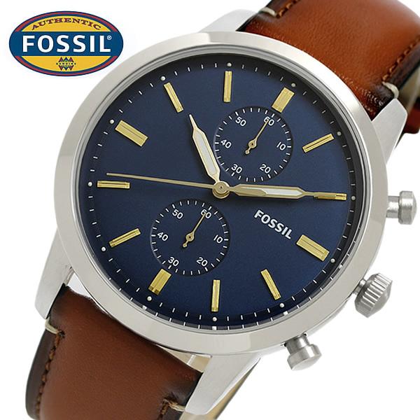 【送料無料】FOSSIL フォッシル Townsman タウンズマン 腕時計 メンズ クロノグラフ 日常生活防水 クオーツ fs5279 ギフト