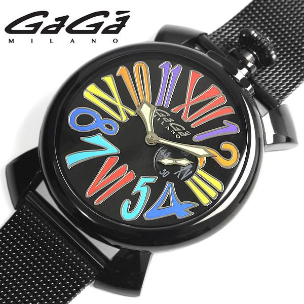 【送料無料】GAGA MILANO MANUALE ガガミラノ マニュアーレ 腕時計 ウォッチ ユニセックス メンズ レディース クオーツ 日常生活防水 ステンレス gaga-5082-1