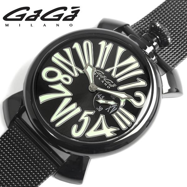【送料無料】GAGA MILANO MANUALE ガガミラノ マニュアーレ 腕時計 ウォッチ ユニセックス メンズ レディース クオーツ 日常生活防水 ステンレス gaga-5082-2 ギフト