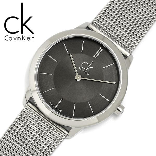 【送料無料】【Calvin Klein】【カルバンクライン】 ミニマル 腕時計 レディース 34mm K3M22124