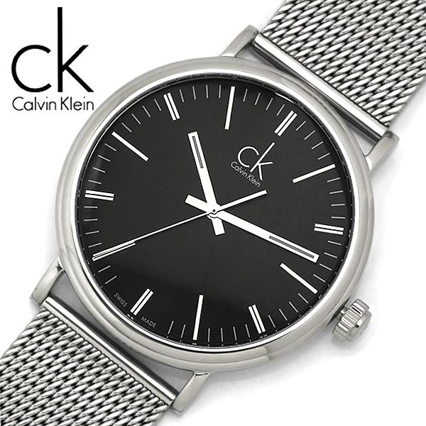 【送料無料】【Calvin Klein】【カルバンクライン】 サラウンド クオーツ 腕時計 メンズ 42mm K3W21121