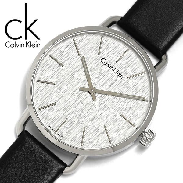 【送料無料】【Calvin Klein】【カルバンクライン】 EVEN イーブン クオーツ 腕時計 メンズ 42mm K7B211C6