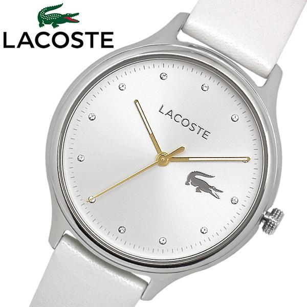 【送料無料】 LACOSTE ラコステ Constance クリスタル 腕時計 ウォッチ レディース クオーツ 日常生活防水 2001005