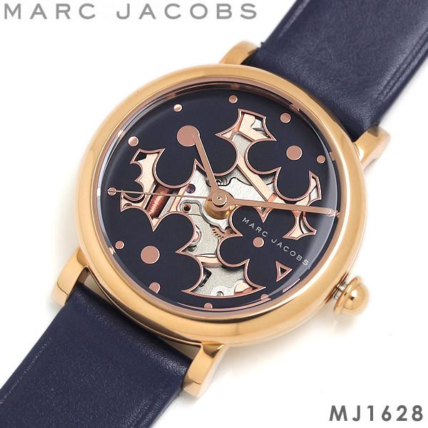 【感謝SALE】【送料無料】マークジェイコブス MARC JACOBS 腕時計 ウォッチ レディース 女性用 クオーツ 5気圧防水 アナログ3針 MJ1628