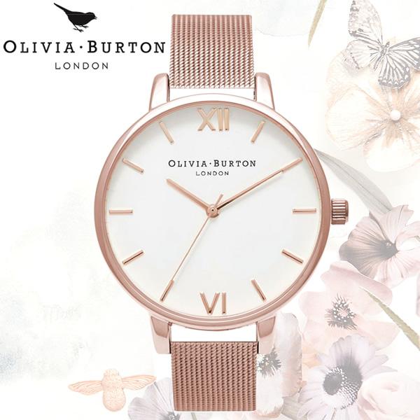 【送料無料】OLIVIA BURTON オリビアバートン 時計 ウォッチ クオーツ レディース 女性用 シンプル OB15BD79