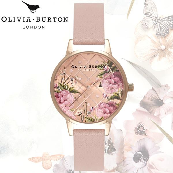 【送料無料】OLIVIA BURTON オリビアバートン 時計 ウォッチ クオーツ レディース 女性用 シンプル OB15EG43