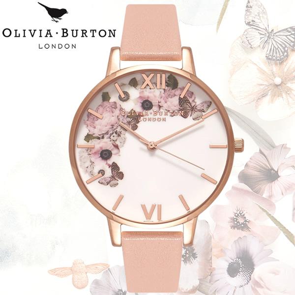 【送料無料】 OLIVIA BURTON オリビアバートン エンチャントガーデン ENCHANTED GARDEN フラワー 38mm レディース 腕時計 クオーツ OB15WG10