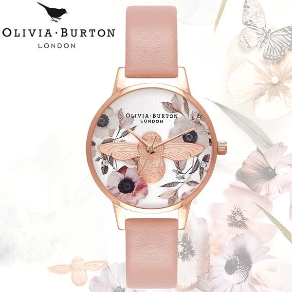 【送料無料】OLIVIA BURTON オリビアバートン 時計 ウォッチ クオーツ レディース 女性用 シンプル OB16AM101