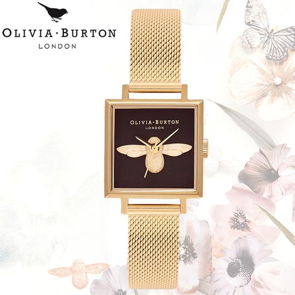 【送料無料】OLIVIA BURTON オリビアバートン 時計 ウォッチ クオーツ レディース 女性用 シンプル OB16AM90
