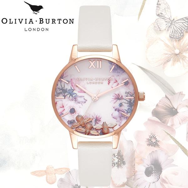 【送料無料】OLIVIA BURTON オリビアバートン 時計 ウォッチ クオーツ レディース 女性用 シンプル OB16CH13