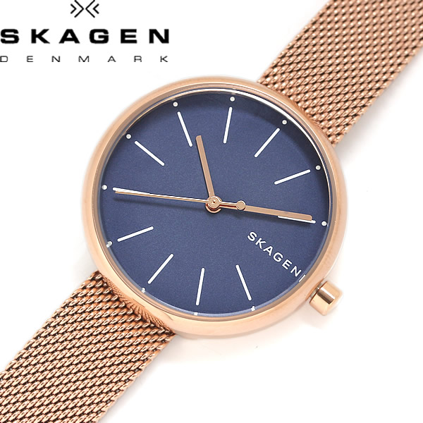 【送料無料】SKAGEN スカーゲン SIGNATUR シグネチャー レディース 女性用 腕時計 ウォッチ クオーツ 5気圧防水 skw2593