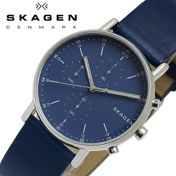 【送料無料】SKAGEN スカーゲン 腕時計 メンズ シグネチャー SIGNATUR クロノグラフ クオーツ 日常生活防水 skw6463