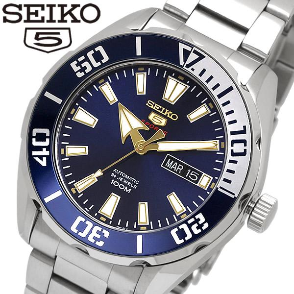 【送料無料】 【SEIKO5 SPORTS/セイコー5 スポーツ】 腕時計 ウォッチ 自動巻き オートマチック メンズ SRPC51K1