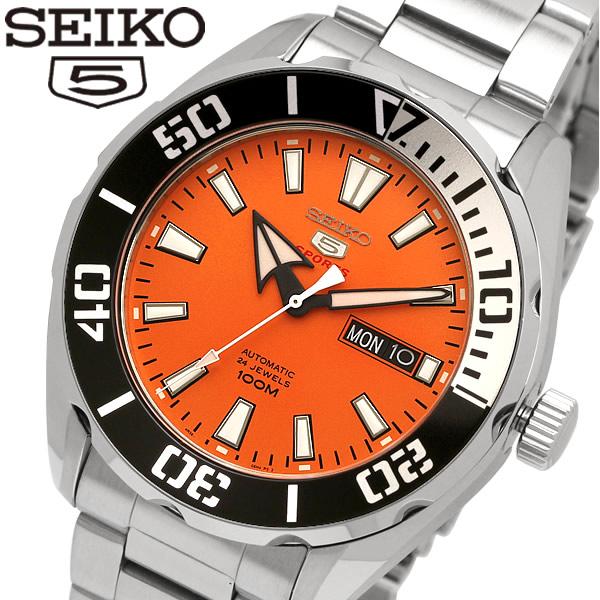 【送料無料】 【SEIKO5 SPORTS/セイコー5 スポーツ】 腕時計 ウォッチ 自動巻き オートマチック メンズ SRPC55K1