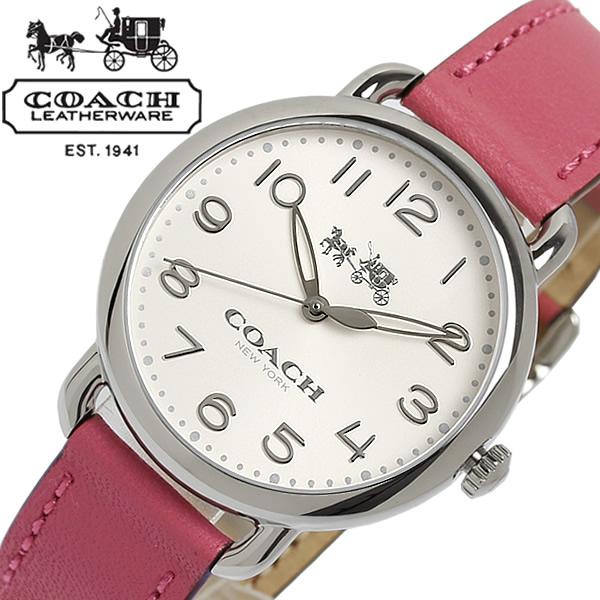 【送料無料】 COACH コーチ DELANCE デランシー クオーツ レディース 腕時計 日常生活防水 14502717