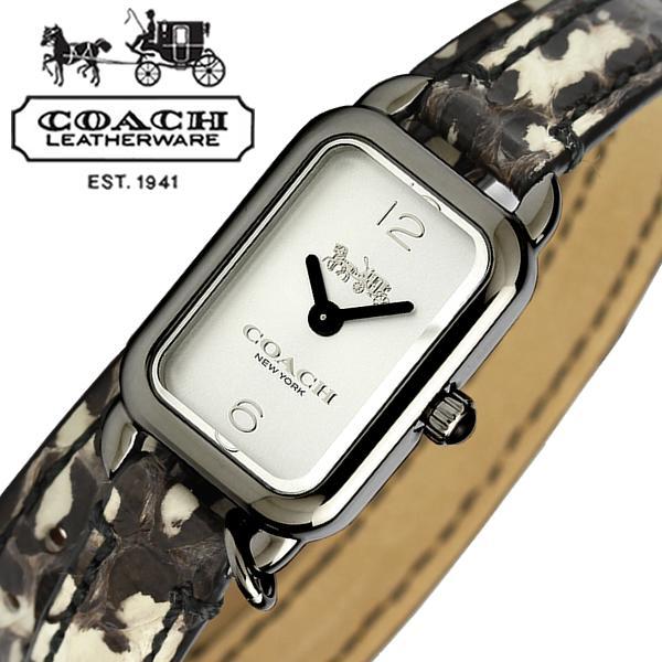 コーチ COACH 腕時計 レディース 14502552 THOMPSON トンプソン シルバー/ホワイト ブレス 時計 ウォッチ