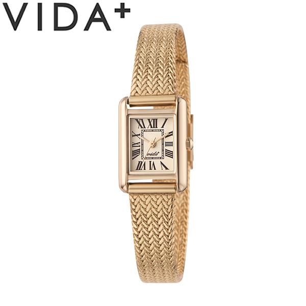 【送料無料】VIDA+ ヴィーダプラス 腕時計 ウォッチ クオーツ レディース 女性用 日常生活防水 jm83930