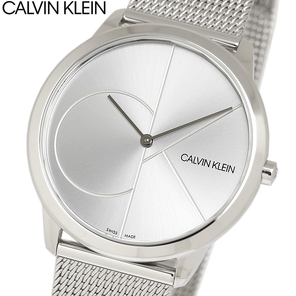【送料無料】Calvin Klein カルバンクライン 腕時計 ウォッチ メンズ シンプル ブランド スイス k3m2112z