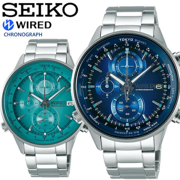 【送料無料】SEIKO WIRED セイコー ワイアード クオーツ 腕時計 ウォッチ メンズ 10気圧防水 AGAW449 AGAW451
