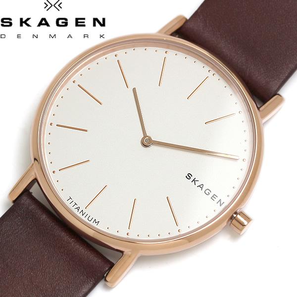 【スーパーSALE】【送料無料】SKAGEN スカーゲン SIGNATUR シグネチャー 腕時計 ウォッチ クオーツ 5気圧防水 skw8600