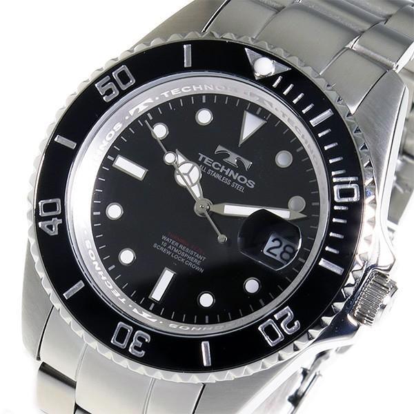 TECHNOS テクノス メンズ ダイバーズタイプ 腕時計 TAM629SB