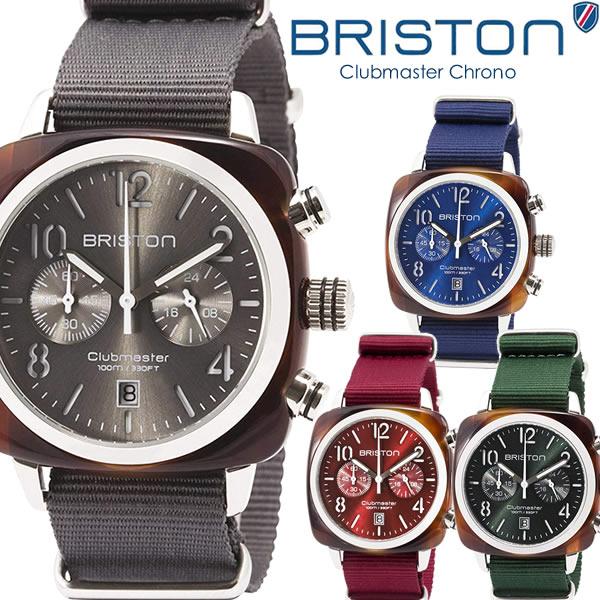 【スーパーSALE】【送料無料】BRISTON ブリストン 腕時計 ウォッチ ユニセックス メンズ レディース クラブマスター NATOベルト シンプル bt15140