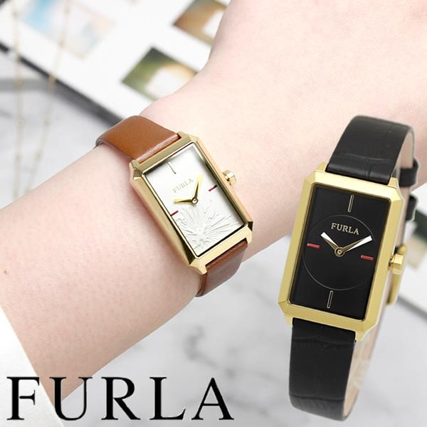 【送料無料】furla フルラ 腕時計 ウォッチ レディース 女性用 クオーツ 日常生活防水 レザーベルト スクエア R4251104506 R4251104502 furla04