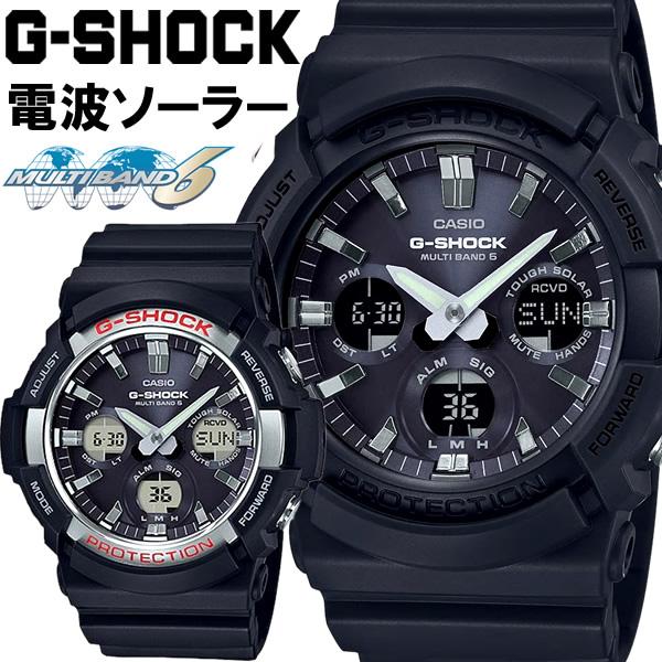 【スーパーSALE】Gショック 電波ソーラー ソーラー電波時計 G-SHOCK ジーショック CASIO カシオ 腕時計 GAW-100-1A GAW-100B-1A メンズ ウォッチ