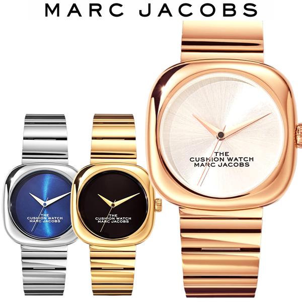 【送料無料】MARC JACOBS マークジェイコブス The Cushion Watch クッションウォッチ 36mm 腕時計 ブランド レディース 女性 MJ0120179298 MJ0120179299 MJ0120179300
