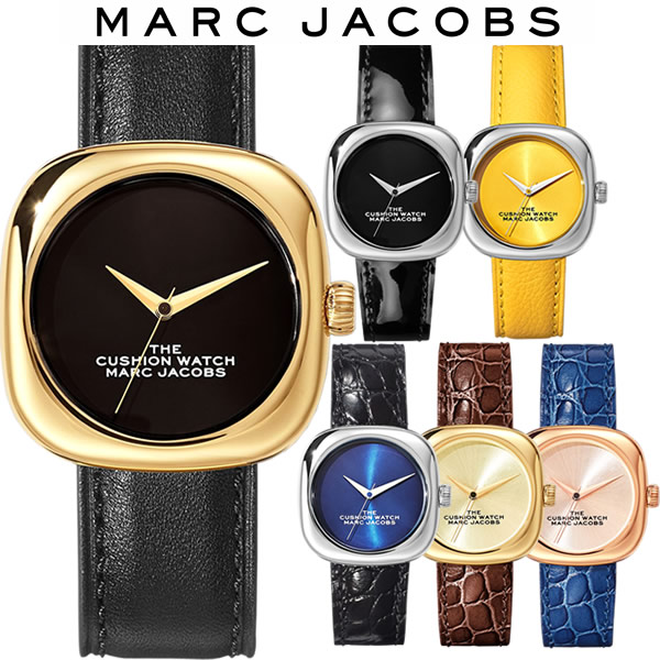 【送料無料】MARC JACOBS マークジェイコブス The Cusion Watch クッションウォッチ 腕時計 レディース 女性 ブランド