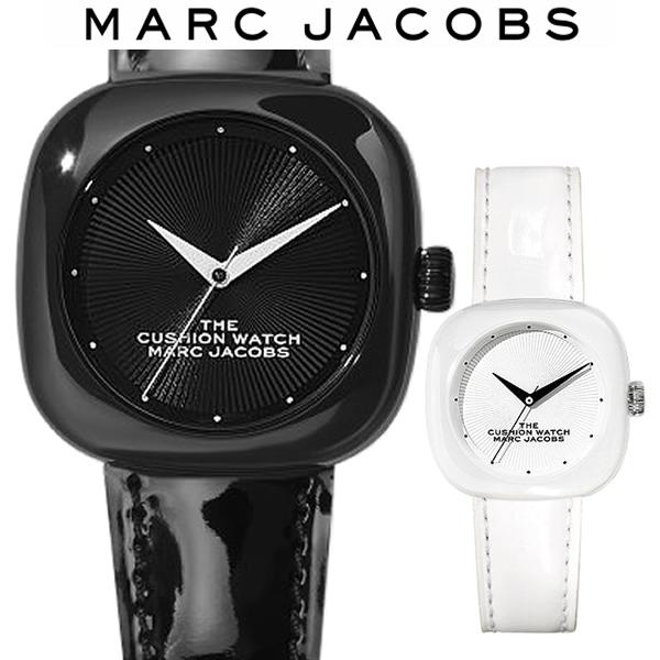 【送料無料】MARC JACOBS マークジェイコブス 腕時計 レディース セラミック 女性 ユニセックス ブランド クッションウォッチ MJ0120184708 MJ0120184709
