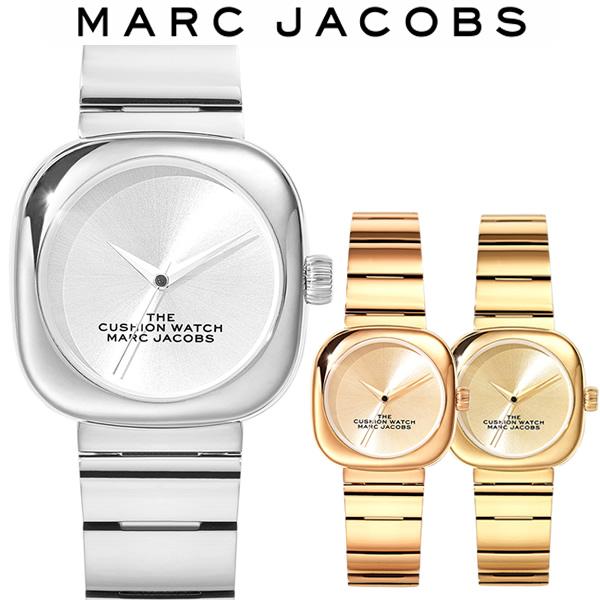 【送料無料】MARC JACOBS マークジェイコブス The Cusion Watch 32mm クッション ウォッチ レディース 女性 ユニセックス 腕時計 ブランド MJ0120184714 MJ0120184715