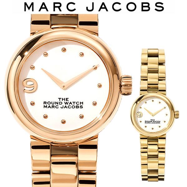 【送料無料】MARC JACOBS マークジェイコブス The Round Watch 28mm ラウンドウォッチ 腕時計 レディース 女性 ブランド MJ0120184718 MJ0120184719