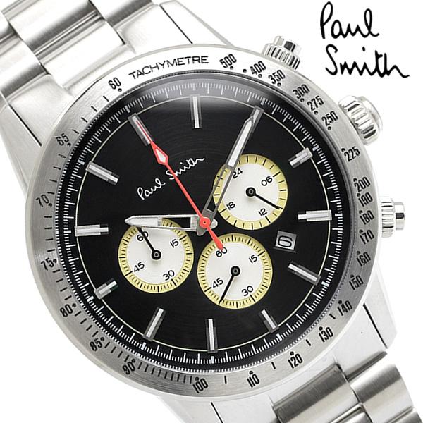 【スーパーSALE】【送料無料】Paul Smith ポールスミス 腕時計 ウォッチ メンズ 男性用 クロノグラフクオーツ 日常生活防水 カレンダー ps0110007
