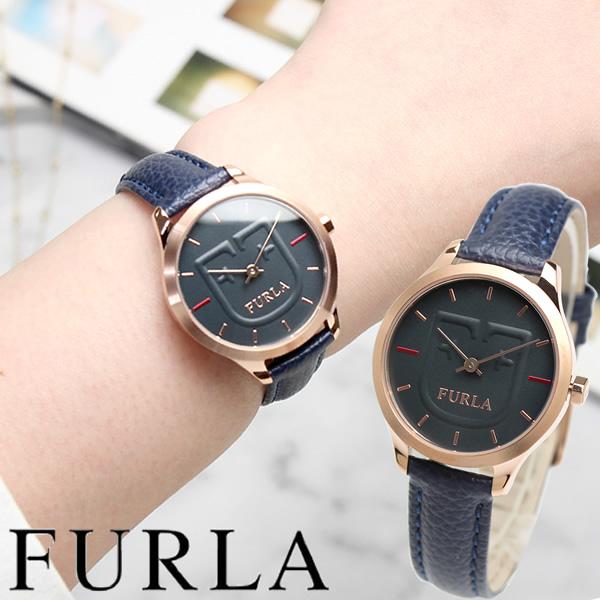 【送料無料】furla フルラ 腕時計 ウォッチ レディース 女性用 クオーツ 日常生活防水 レザーベルト シンプル R4251125501