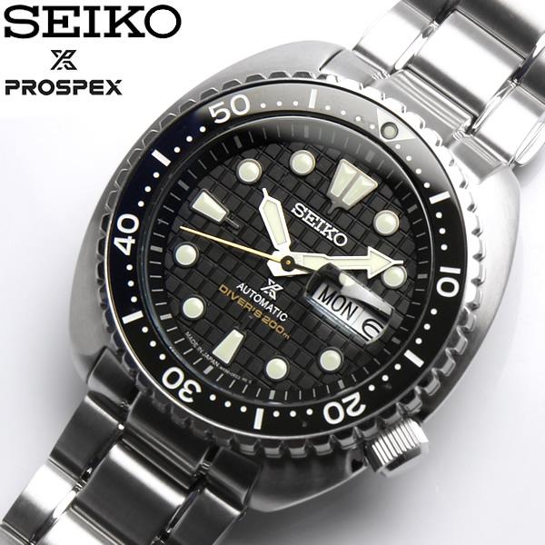 【送料無料】 【SEIKO】 セイコー 腕時計 メンズ SEIKO PROSPEX ダイバーズウォッチ ダイバースキューバ タートル 200m潜水用防水 ネット流通限定 自動巻き sbdy049