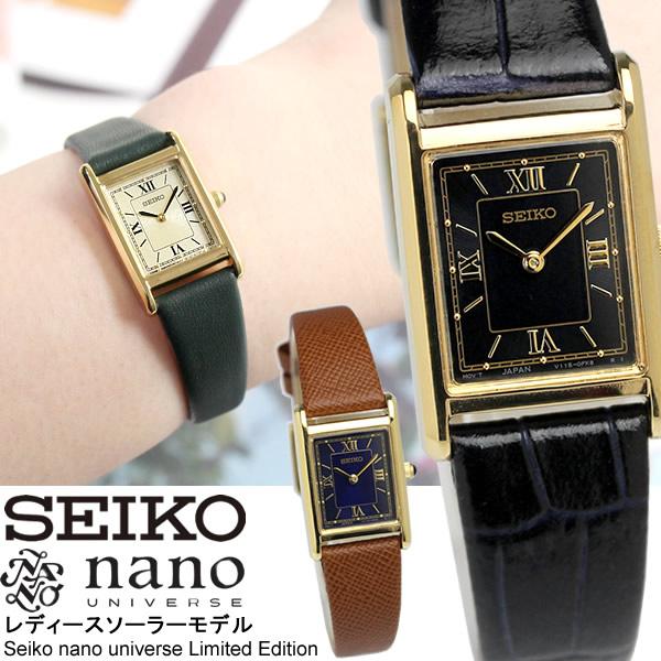 【送料無料】seiko SELECTION セイコー 流通限定モデル 腕時計 ウォッチ レディース 女性用 nano ナノユニバース stpr066 stpr068