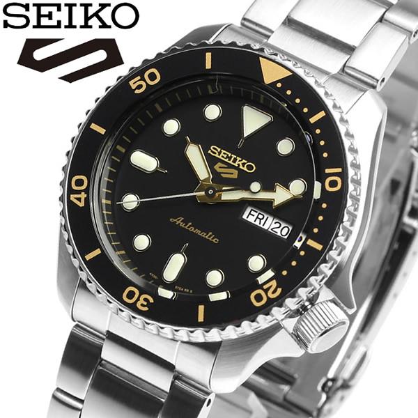 【送料無料】セイコー SEIKO 5 SPORTS Automatic watch カレンダー 自動巻き 腕時計 メンズ ウォッチ スポーツ SRPD57K1