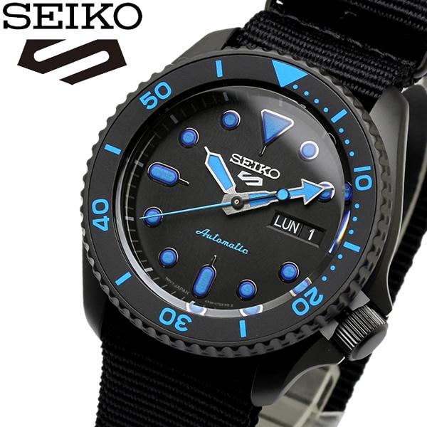 【SEIKO】 セイコー 5 Sports Automatic Watch スポーツ メンズ ウォッチ 腕時計 自動巻き カレンダー SRPD81