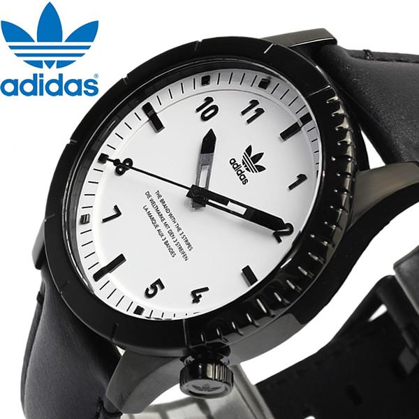 adidas アディダス Cyphyer_LX01 腕時計 メンズ 男性用 クオーツ z06-005 10気圧防水 レザー