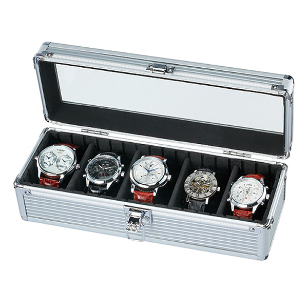 Boil Up To 1 000 Yen Off Coupon Watch Storage Case Watch Clock Case Aluminum Case And Get Out And Is Men S