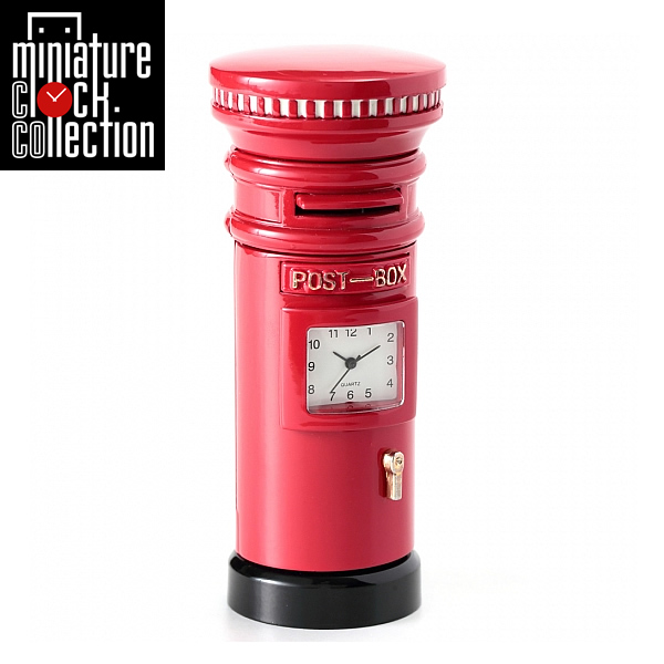 ミニチュア クロック 置時計 おしゃれ 小さい アナログ 卓上インテリア デザイン かわいい 雑貨 C3202 父の日 ギフト