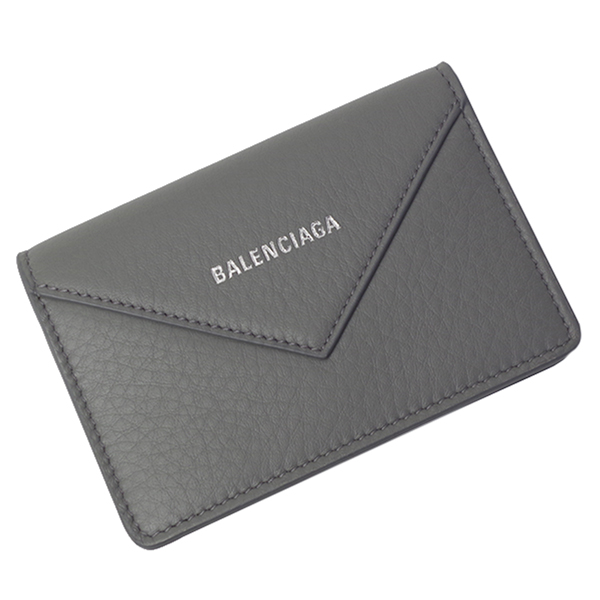 バレンシアガ BALENCIAGA 名刺入れ 499201 DLQ0N 1215 グレー レディース メンズ カードケース
